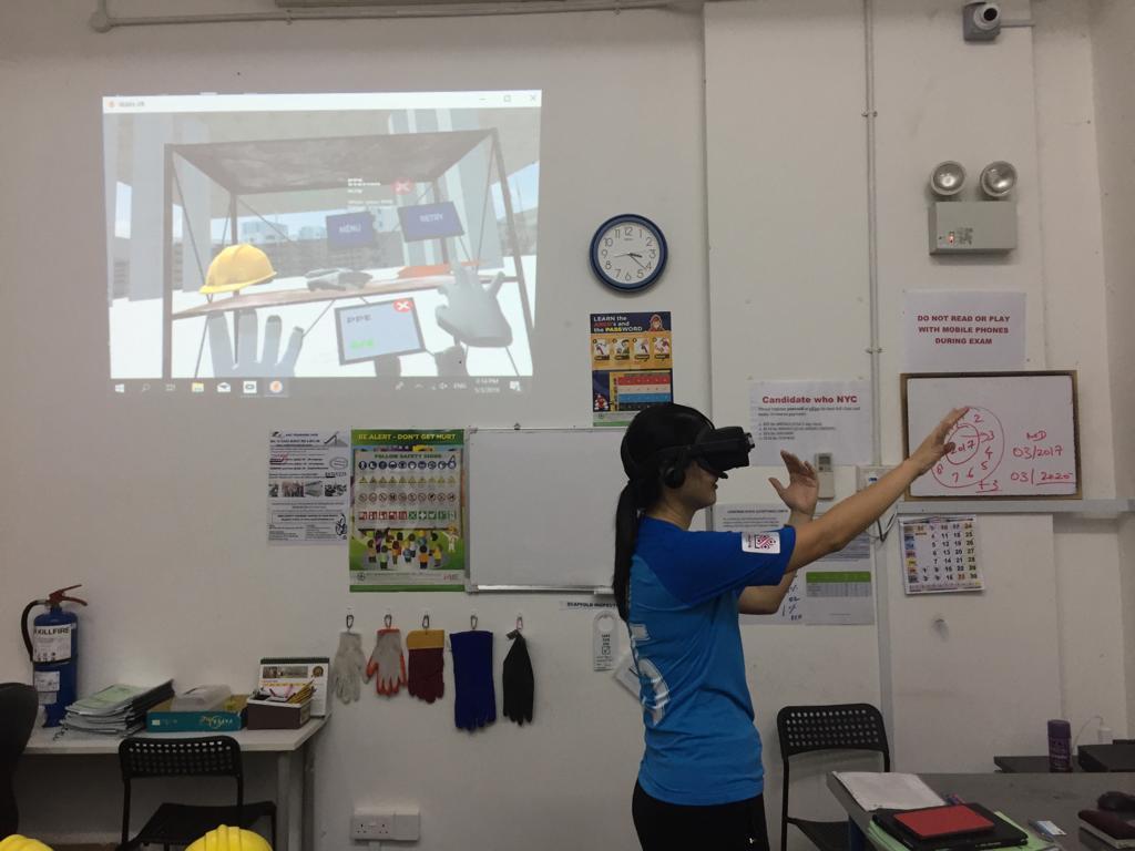 Virtual reality singapore