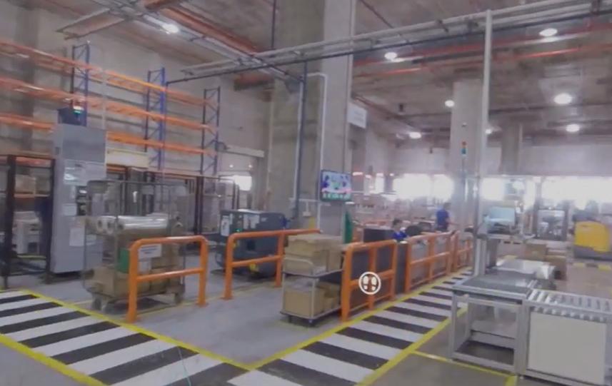 warehouse walkthrough